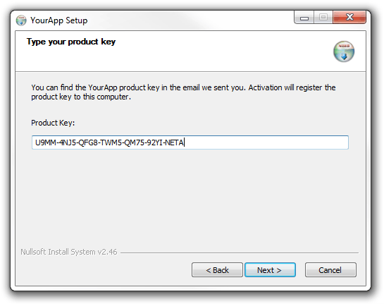 Using TurboActivate in your NSIS installer