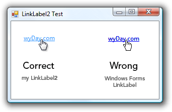 LinkLabel2 Screenshot