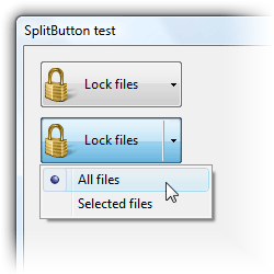 SplitButton Screenshot
