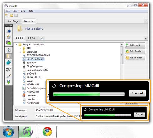 Windows 7 Progress Bar, taskbar progress bar, open source C#