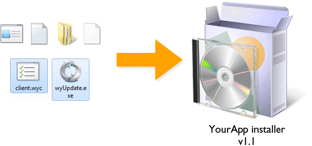 Including files with your installer