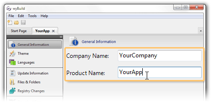 Enter your Product & Company names